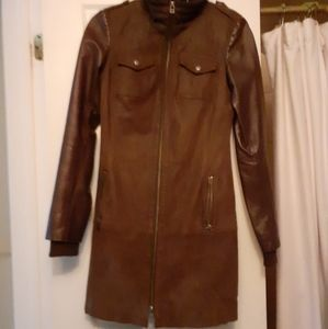 Danier leather spring / fall coat